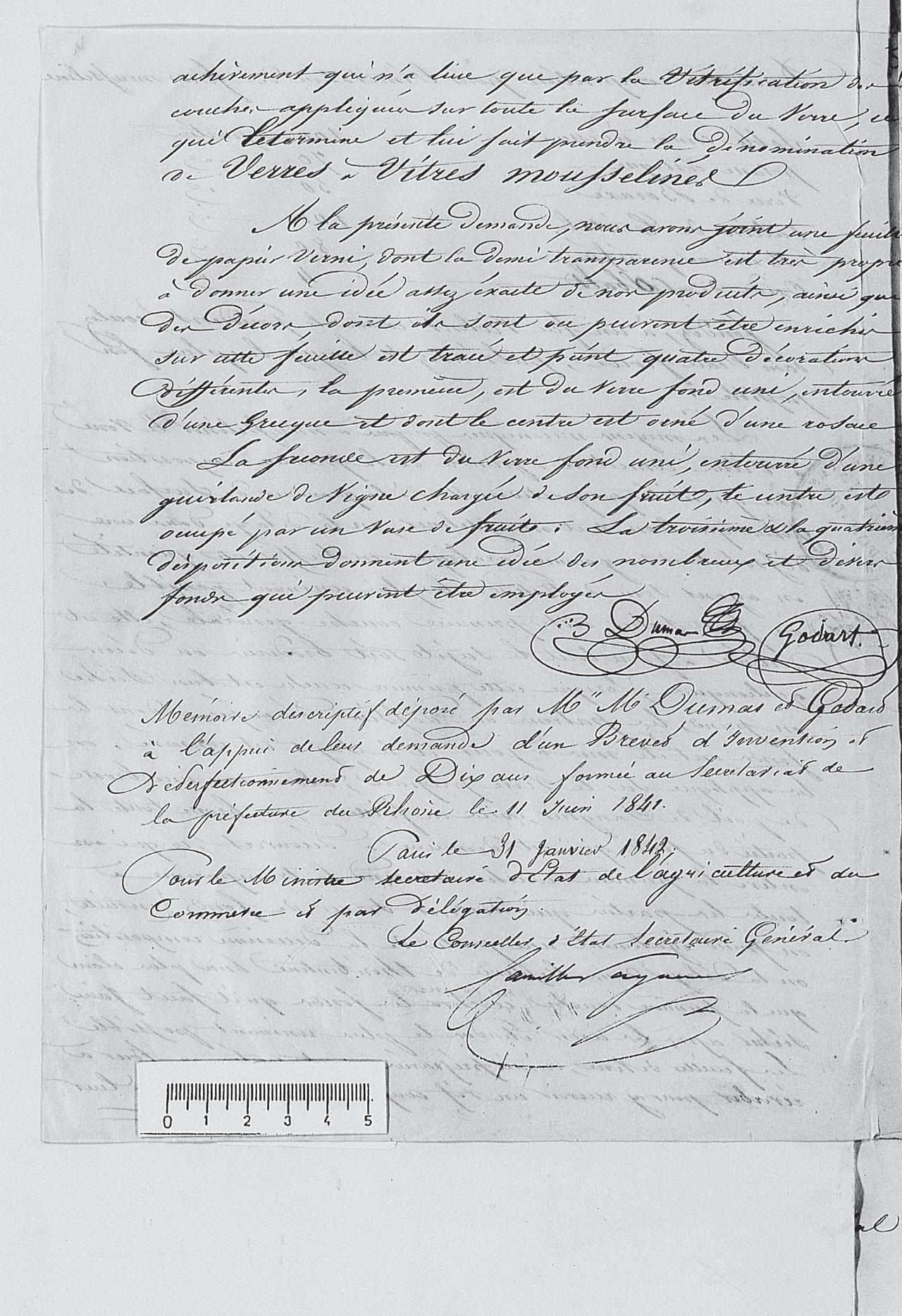 Brevet Dumas Godard 1842 Partie 5