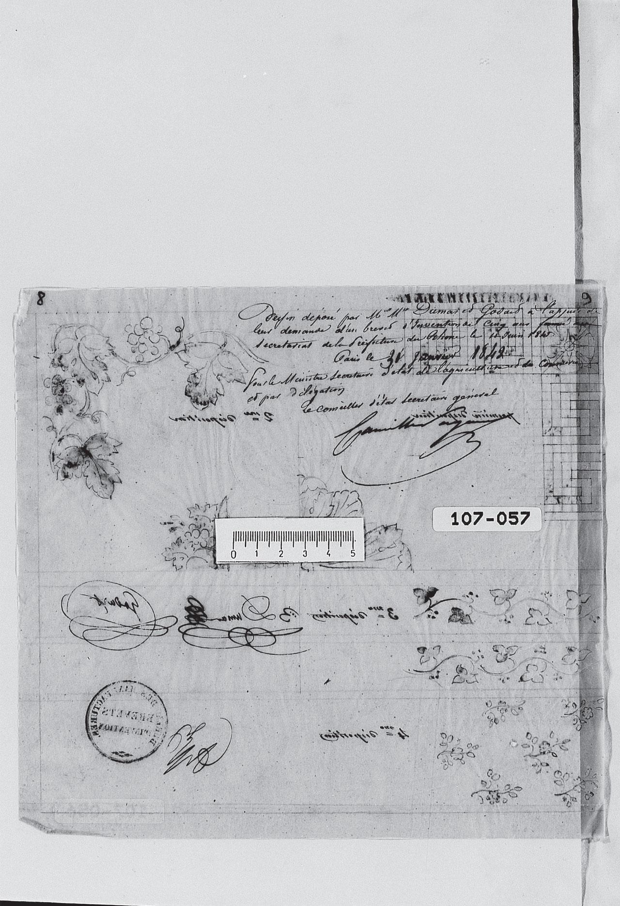 Brevet Dumas et Godard 1842 Partie 9