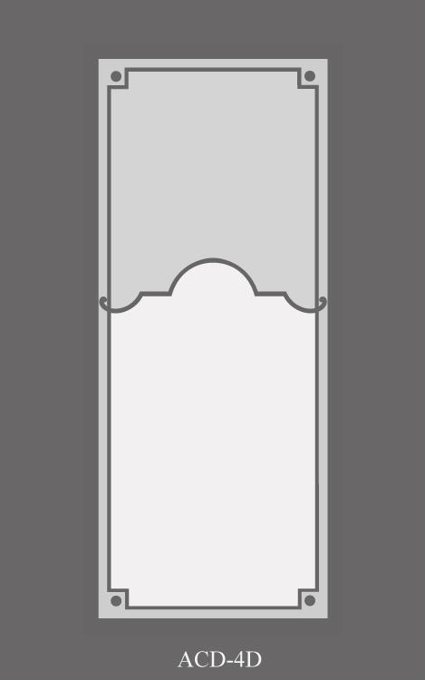 verre sablé simple